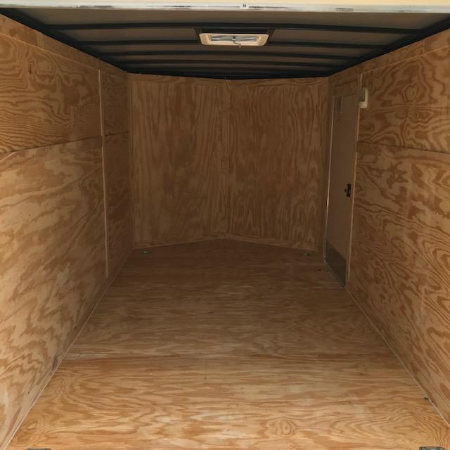 2019 Rock Solid Cargo 7x12 Tandem Axle Enclosed Cargo Trailer