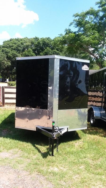2019 Rock Solid Cargo 7x12 Tandem Axle Enclosed Cargo Trailer