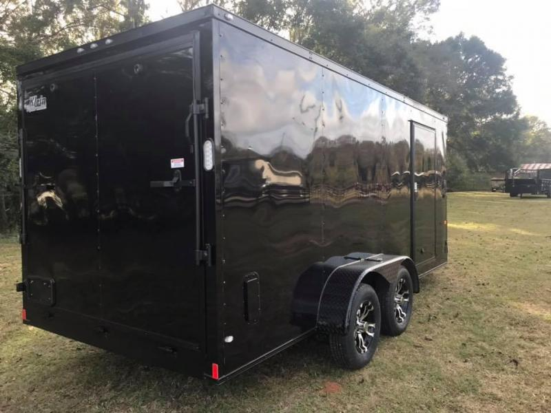 2019 Rock Solid Cargo 7x16x7 Tandem Axle Enclosed Cargo Trailer