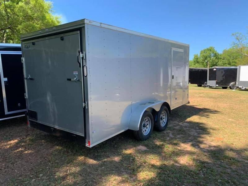 2019 Rock Solid Cargo 7x16 Tandem Axle Enclosed Cargo Trailer