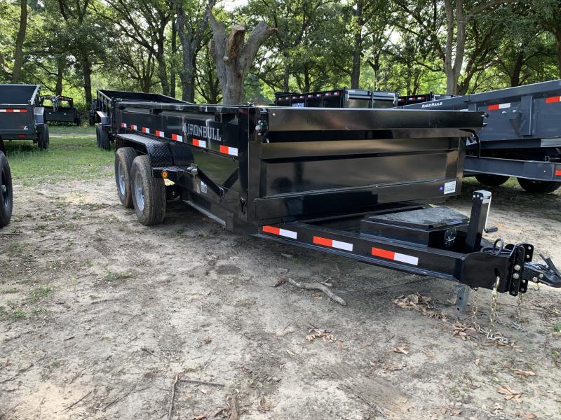 2019 Iron Bull 83x14 Dump Trailer Dump Trailer