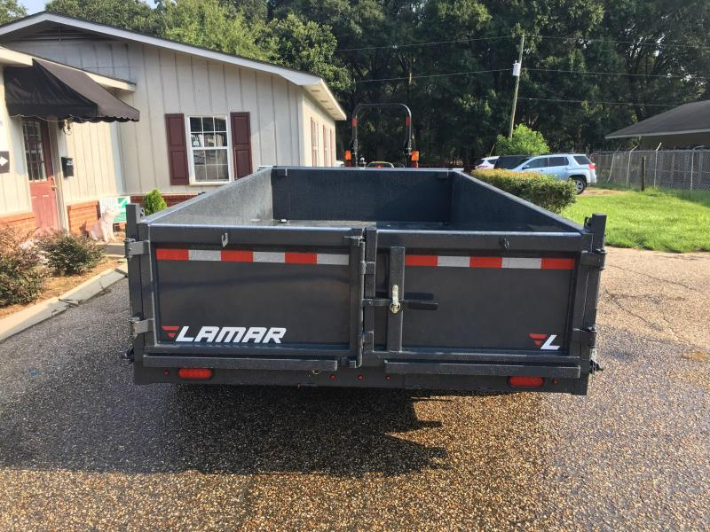 2019 Lamar Trailers 83X14 Dump Trailer