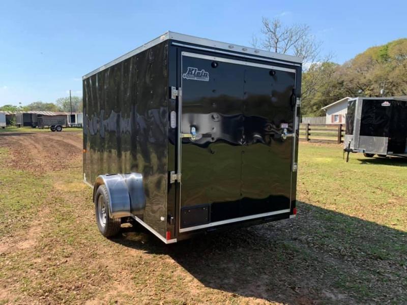 2019 Rock Solid Cargo 6X12 Single Axle Enclosed Cargo Trailer