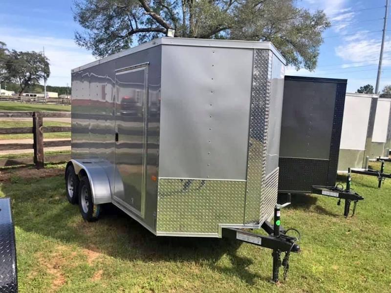 2019 Rock Solid Cargo 6x12 Tandem Axle Enclosed Cargo Trailer