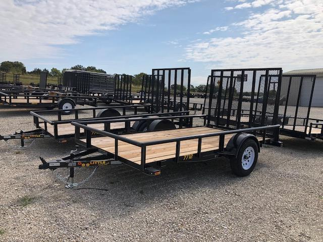2018 Doolittle Trailers 77x12 Single Axle Utility