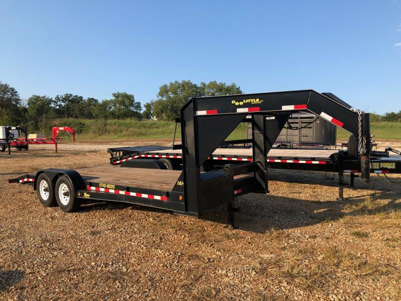 2014 Doollittle 82x20 Xtreme Series Equipment Trailer