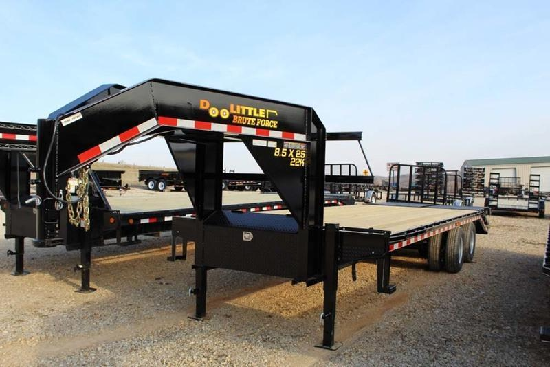 2018 Doolittle Trailers 8.5 x 25 20K Brute Force Deckover