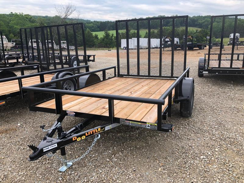2019 Doolittle Trailers 77x10 Single Axle Utility