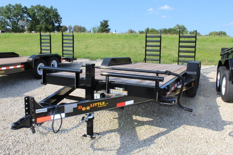 2018 Doolittle Trailers 82x18 Xtreme Equipment Trailer