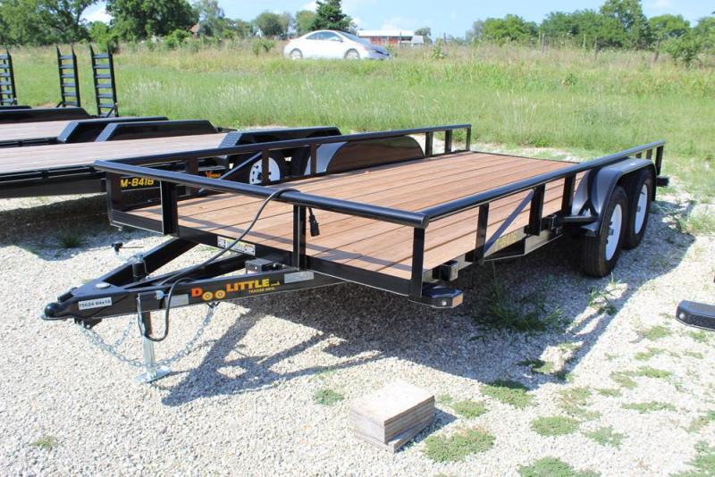 2018 Doolittle Trailers 84x16 Tandem Axle Utility