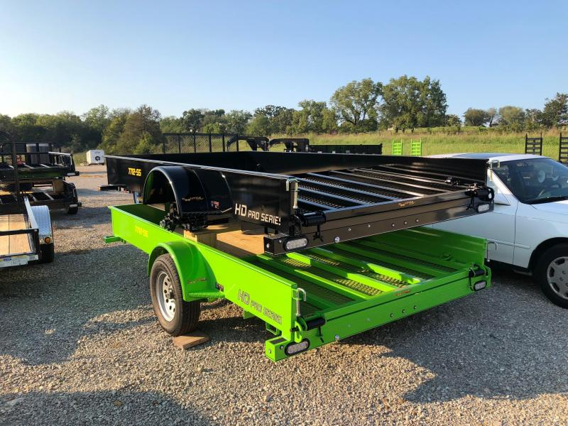 2020 Doolittle Trailers 77x12 SS Series Utility Trailer