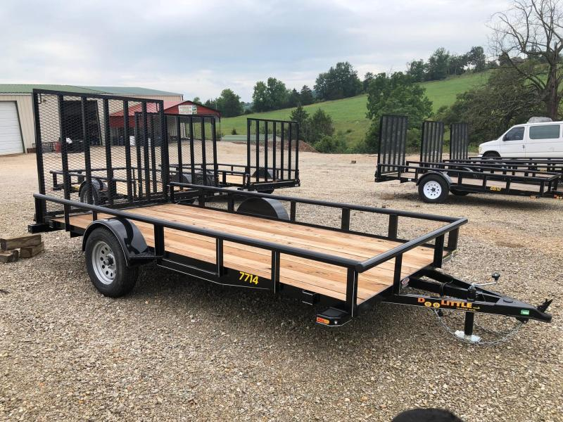 2019 Doolittle Trailers 77x14 Single Axle Utility