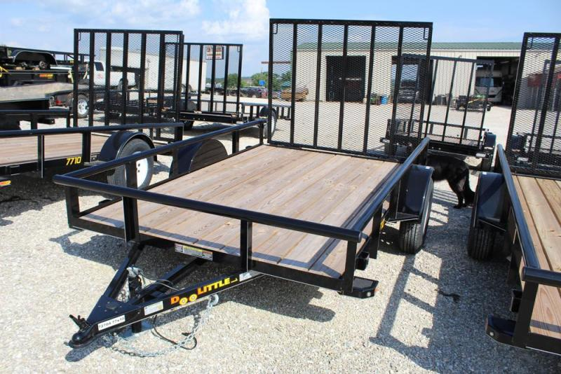 2018 Doolittle Trailers 77x10 Single Axle Utility