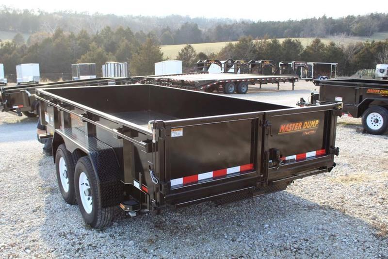 2018 Doolittle Trailers 82x16 Masterdump