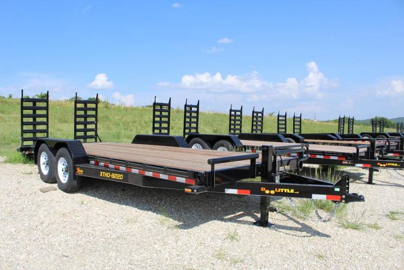 2018 Doolittle Trailers 82x20 Xtreme Equipment Trailer