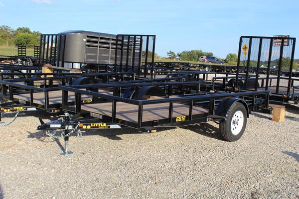 2018 Doolittle Trailers 66x12 Single Axle Utility