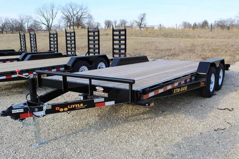 2018 Doolittle Trailers 84x18 Xtreme Equipment Trailer