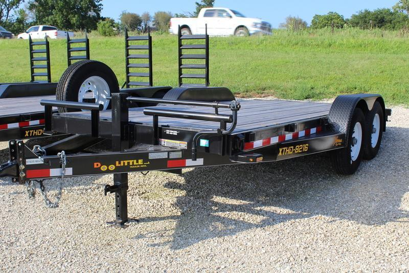 2018 Doolittle Trailers 82x16 Xtreme Equipment Trailer