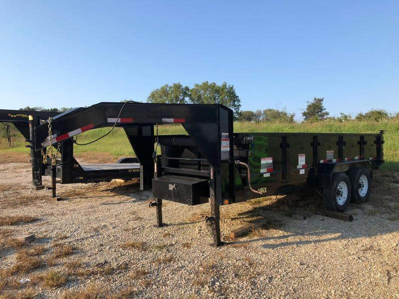 2017 Big Tex 82x16 Dump Trailer