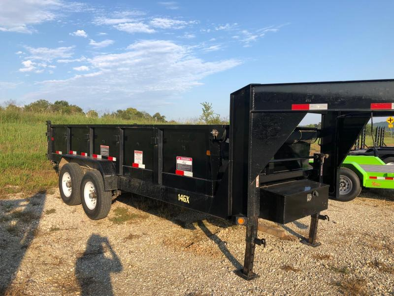 2017 Big Tex 82x16 Dump Trailer