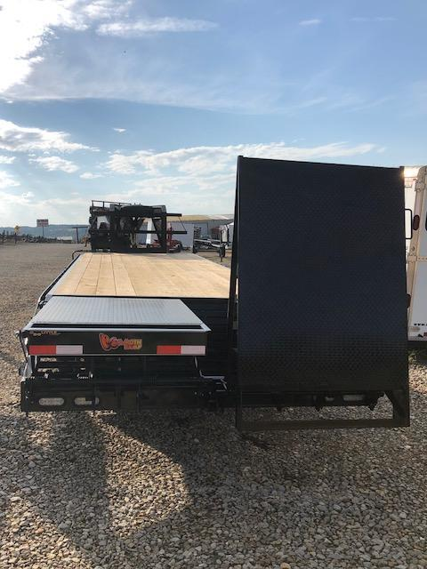 2018 Doolittle 8.5x30 Brute Force Deckover Flatbed Trailer