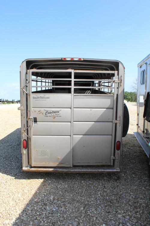 2010 6x16 Used Stock Trailer