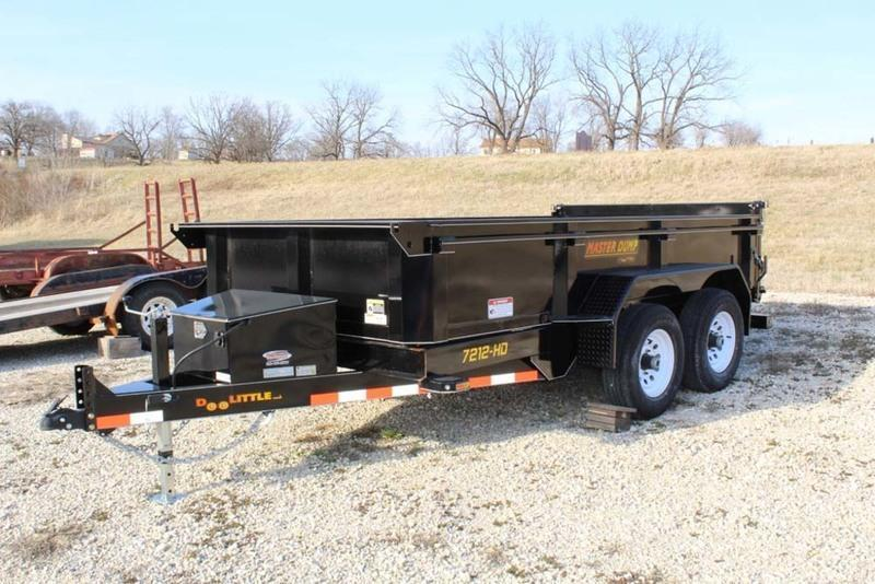 2018 Doolittle Trailers 6x12 Masterdump