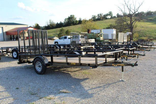 2018 Doolittle Trailers 77x14 Single Axle Utility