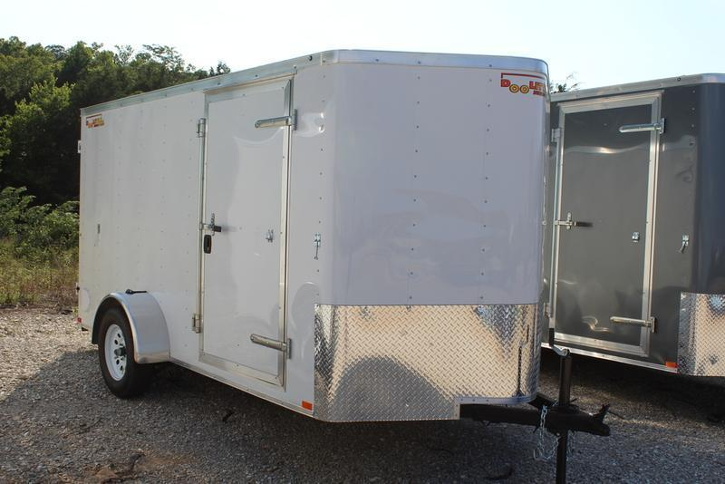 Cargo Trailer Accessories >> 2019 Doolittle Trailers 6x12 Bullitt Series Cargo Trailer Csh