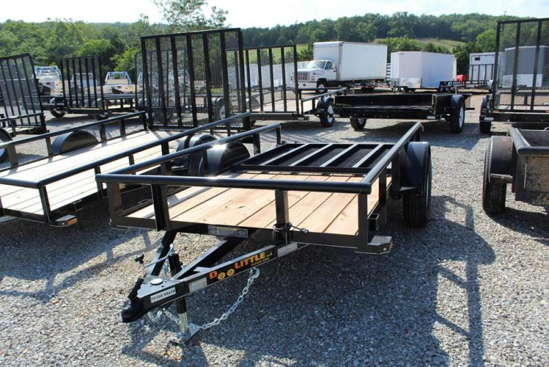 2018 Doolittle Trailers 66x10 Single Axle Utility