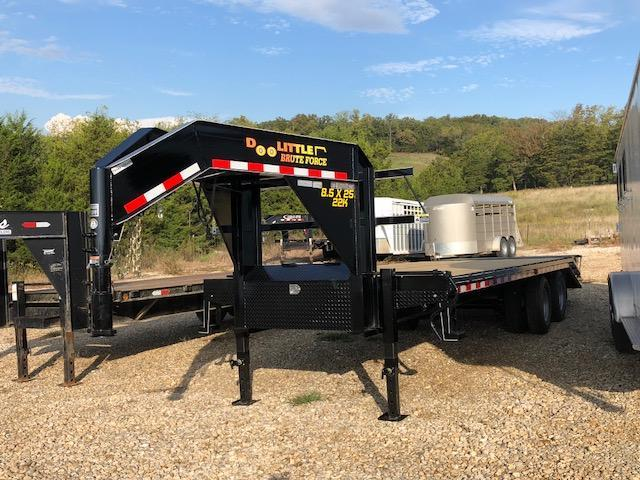 2018 Doolittle 8.5x25 Brute Force Deckover Flatbed Trailer