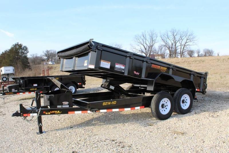 2018 Doolittle Trailers 82x14 Masterdump