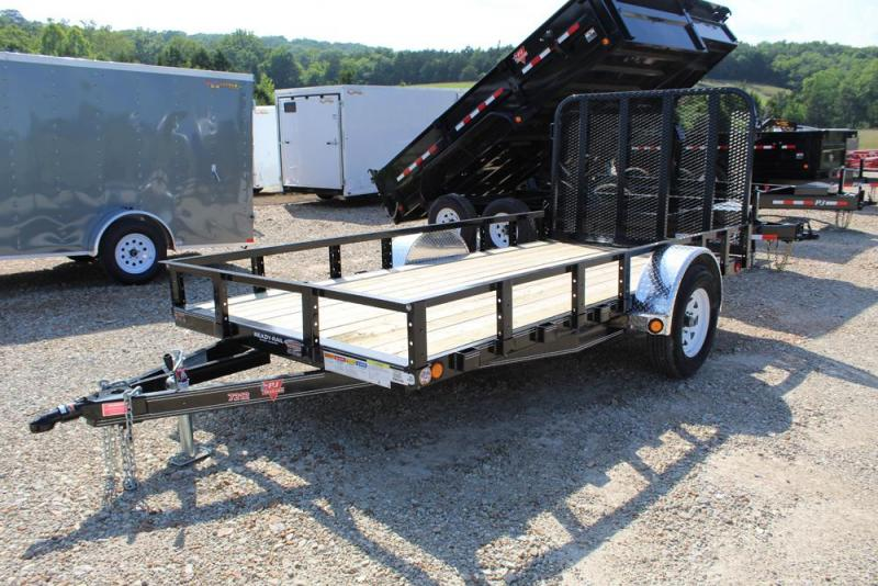 2018 PJ Trailers 72x12 Single Axle Utility