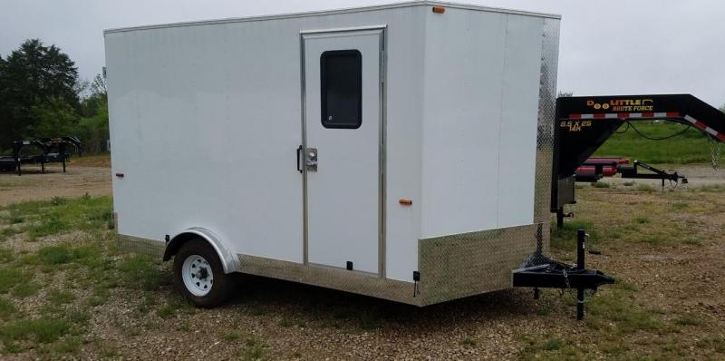 2019 Play-Mor Trailers 8x12 Cargo Trailer