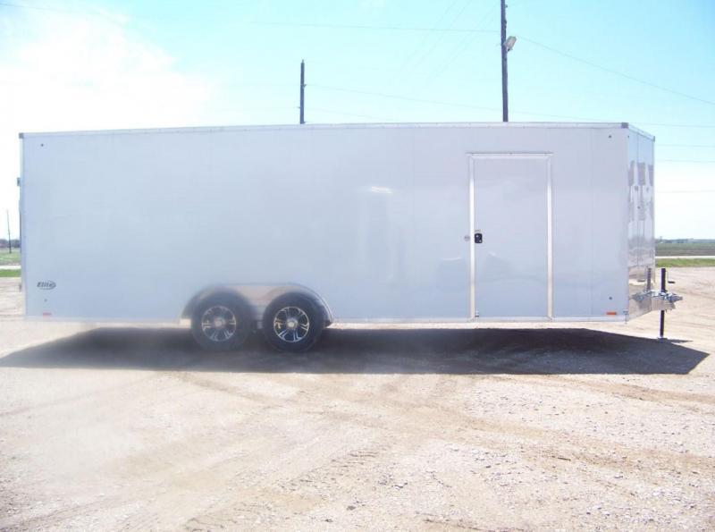 2019 Pace American Elite 8.5x24 Enclosed Car / Racing Trailer