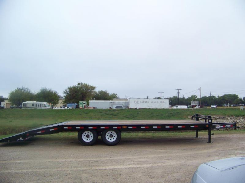 "2019 PJ Trailers 22' 8"" I-Beam Deckover Trailer"