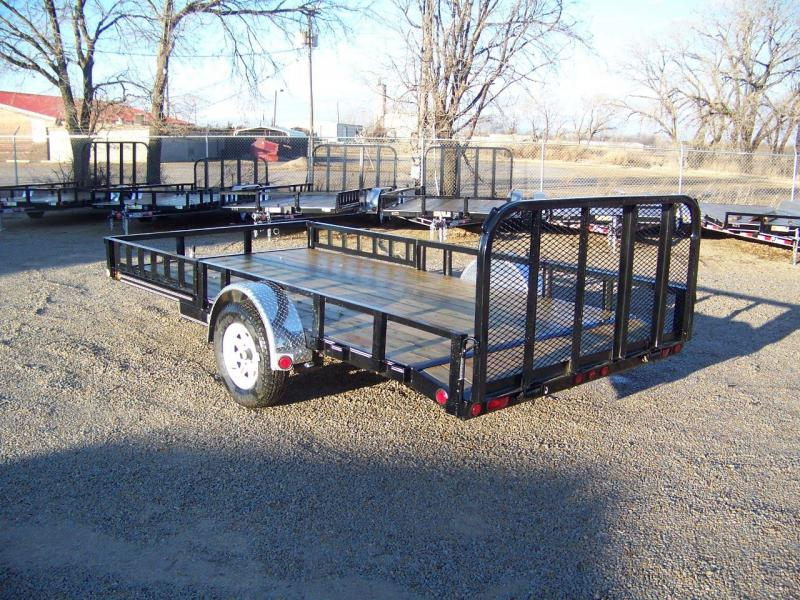 "2019 PJ 12'x83"" [U8] Single Axle Utility Trailer"