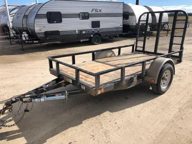 Used 2013 PJ 66x10 Open Utility Trailer