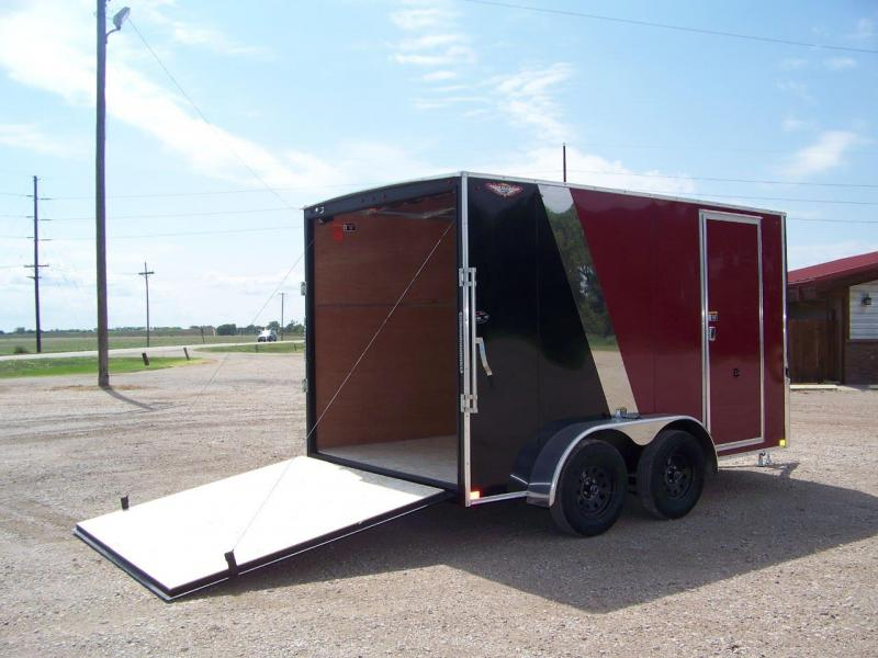 2018 H and H Trailer H8412TFTV-070 Enclosed Cargo Trailer