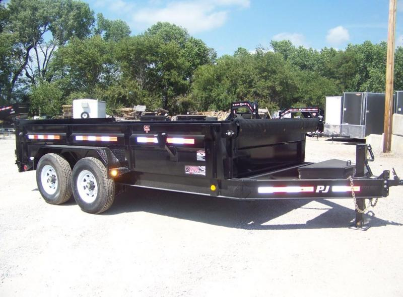 2020 PJ Trailers 14'x83 Low Pro Dump Trailer