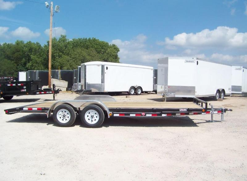 2019 PJ 22' [C5] Open Equipment Car Hauler