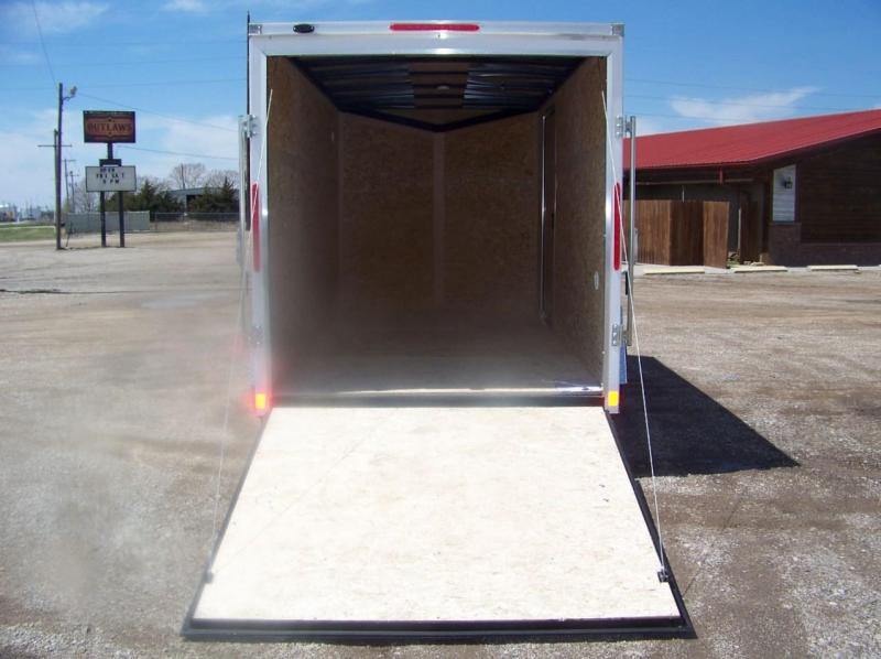 2018 Pace American OB6X12S12DLX Enclosed Cargo Trailer