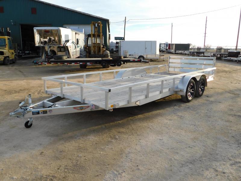 2019 H&H 82X20 TRSA Aluminum Utility