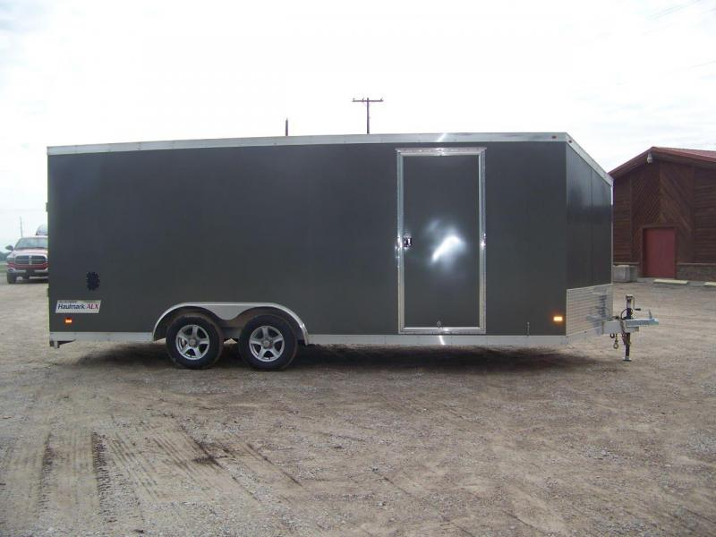 Used 2016 Haulmark 22' Enclosed Cargo Trailer