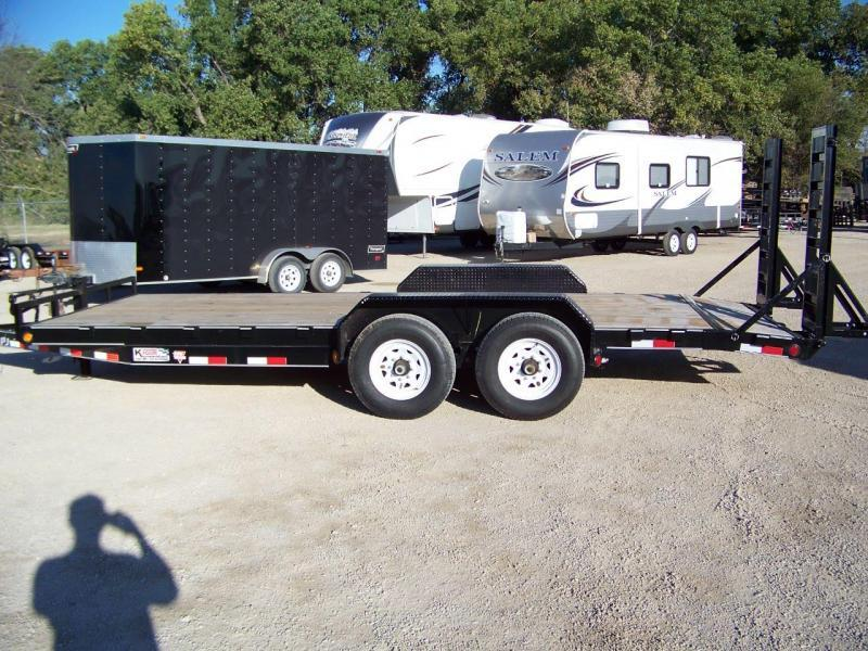 2019 PJ Trailers 6 Channel Equipment Trailer Equipment Trailer