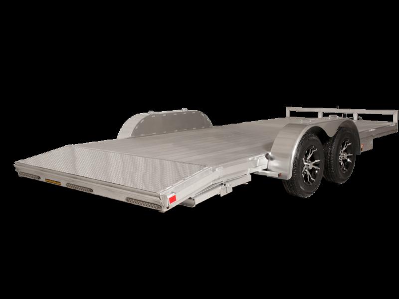 2019 H&H 82X22 HDA Aluminum Flatbed