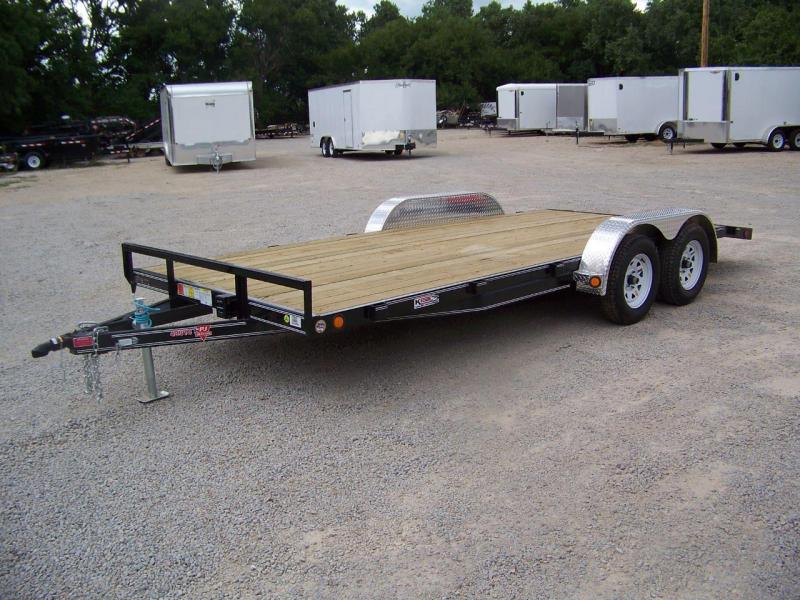 2019 PJ 18' [C4] Open Equipment Car Hauler