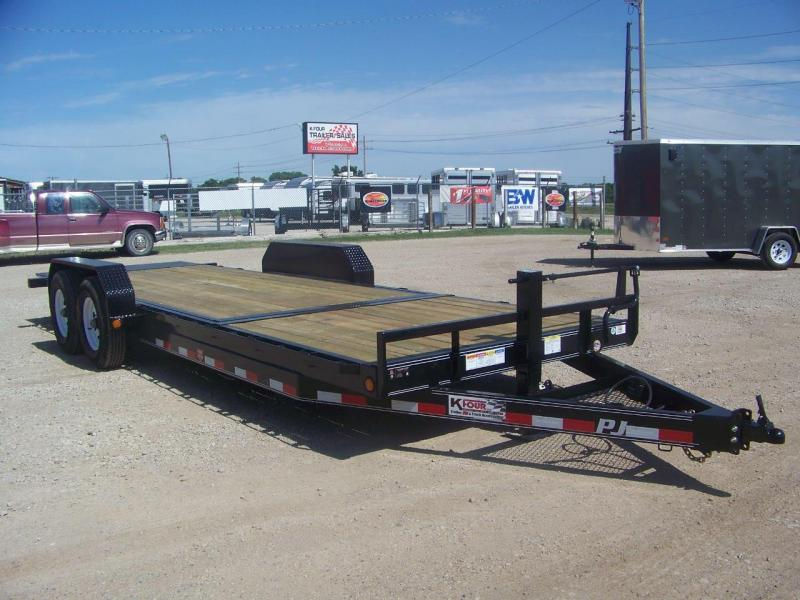 2019 PJ 22' [T6] Tilt Equipment Trailer