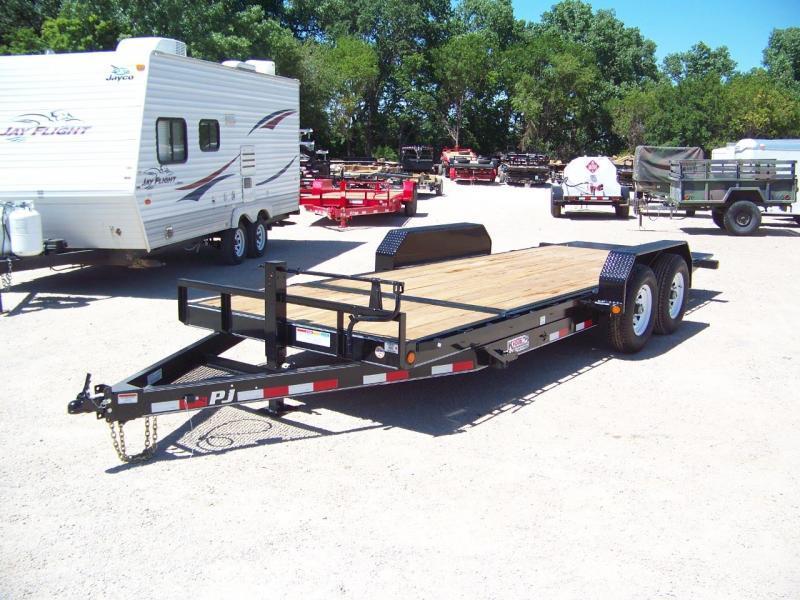 2020 PJ Trailers 20' 6 in. Channel Equipment Tilt (T6) Equipment Trailer