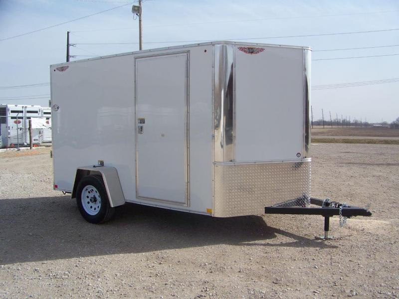 2019 H and H Trailer H7210SRTV-035 Enclosed Cargo Trailer